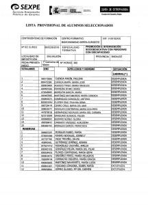 Microsoft Word - listado provisional alumnos tablón