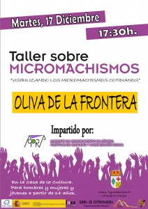 TALLER MICROMACHISMOS_Oliva de la Frontera
