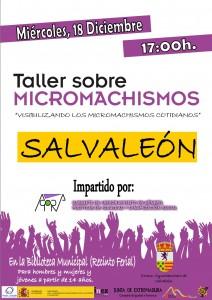 TALLER MICROMACHISMOS_Salvaleón