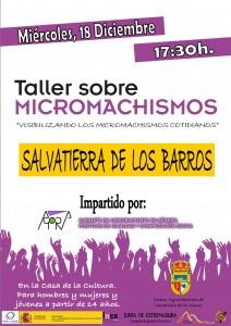 TALLER MICROMACHISMOS_Salvatierra de los Barros