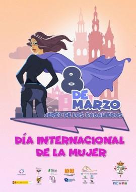 Cartel 8 de marzo 2020 Jerez de los Caballeros